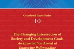 The changing intersection of society and development goals: An examination aimed at improving policy-making