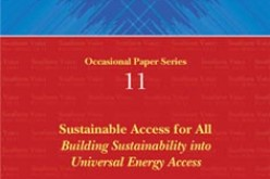 Sustainable Access For All: Building Sustainability into Universal Energy Access