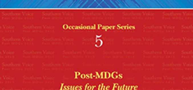 Post-MDGs: Issues for the Future