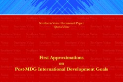 First Approximations on Post-MDG International Development Goals