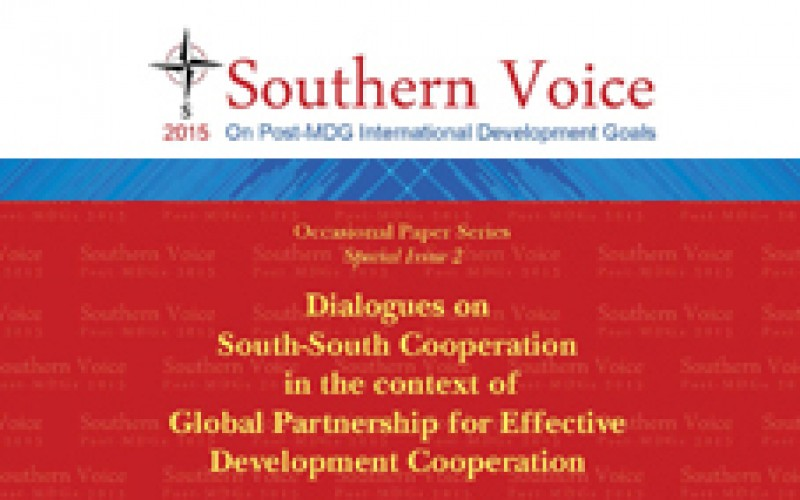 Dialogues on South-South Cooperation in the context of Global Partnership for Effective Development Cooperation
