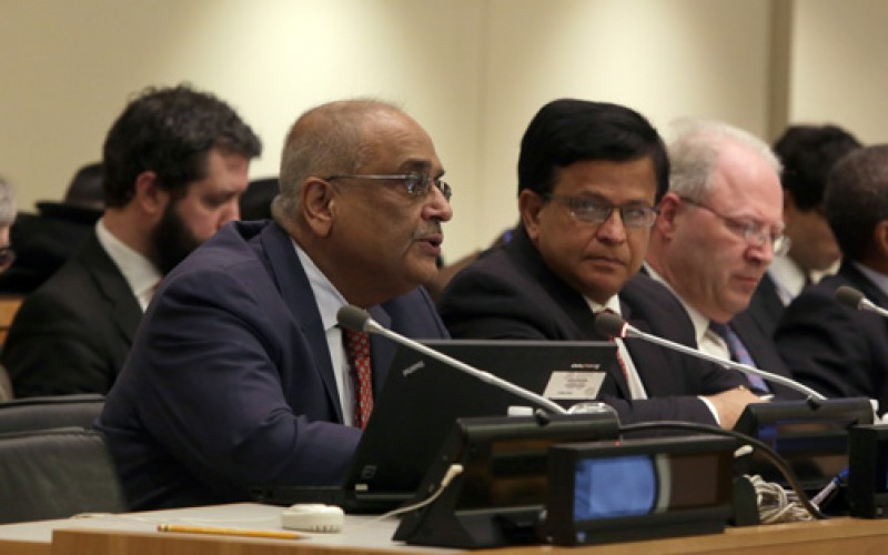 Credible work plan and political leadership critical for SDGs – says SV's Chair at the UN in New York