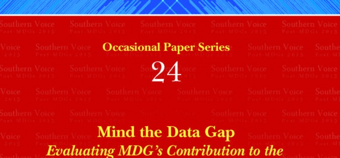 MIND THE DATA GAP: Evaluating MDG's Contribution to the Improvement of Statistical Capacities in Bolivia, 2000-2013