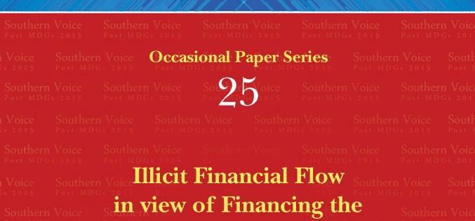 Illicit Financial Flow in view of Financing the Post-2015 Development Agenda