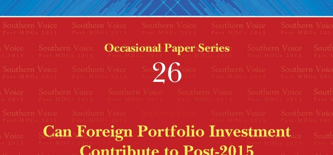 Can Foreign Portfolio Investment Contribute to Post-2015 Development Goals in Asia?