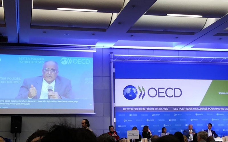 SV's Chair attends Global Forum on Development at OECD, Paris