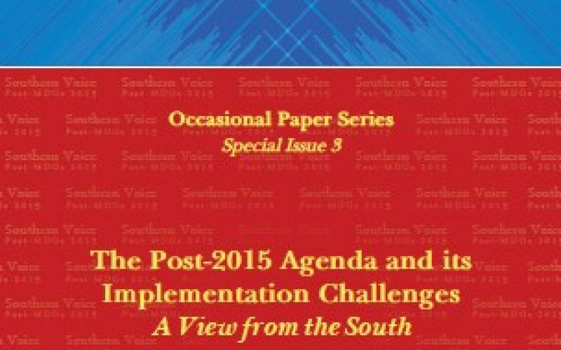 The Post-2015 Agenda and its Implementation Challenges: A View from the South
