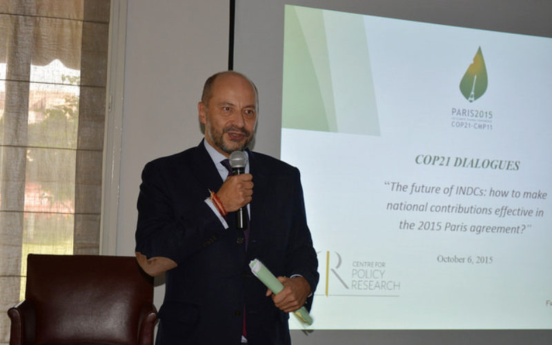 CPR and Embassy of France organise COP21 dialogue in New Delhi