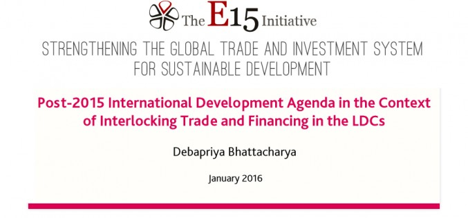 Post-2015 International Development Agenda in the Context of Interlocking Trade and Financing in the LDCs