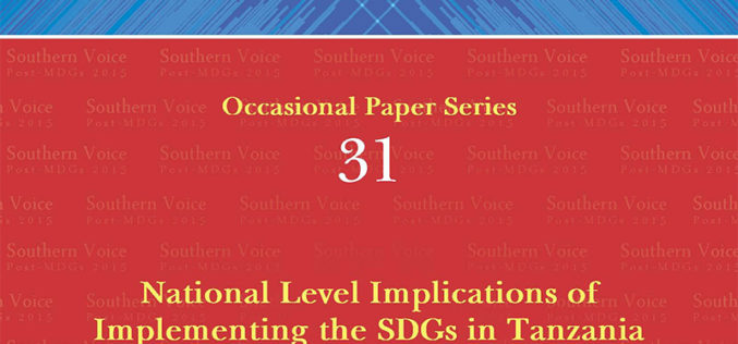 National Level Implications of Implementing the SDGs in Tanzania
