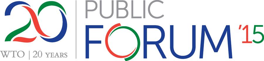 WTO Public Forum 2015-logo