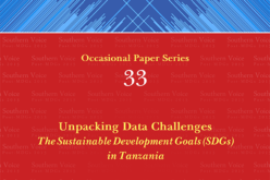 Unpacking Data Challenges: The Sustainable Development Goals (SDGs) in Tanzania