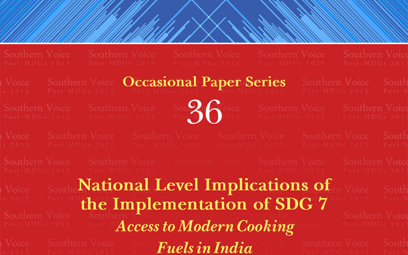 National Level Implications of the Implementation of SDG 7: Access to Modern Cooking Fuels in India