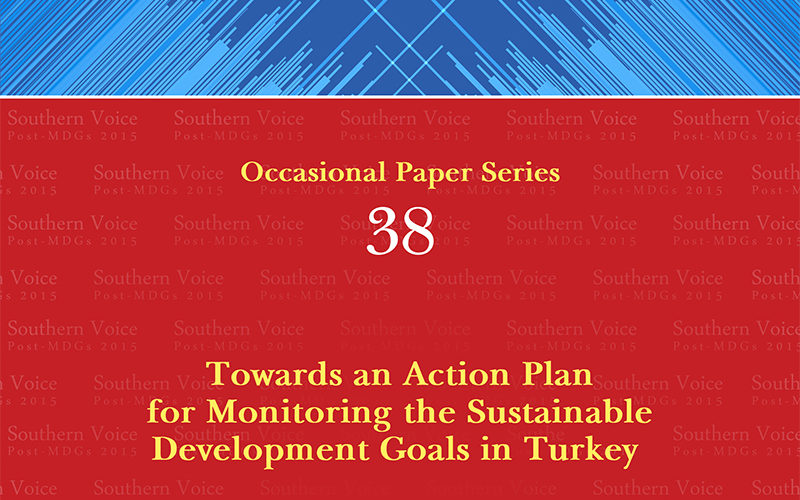 Towards an Action Plan for Monitoring the Sustainable Development Goals in Turkey
