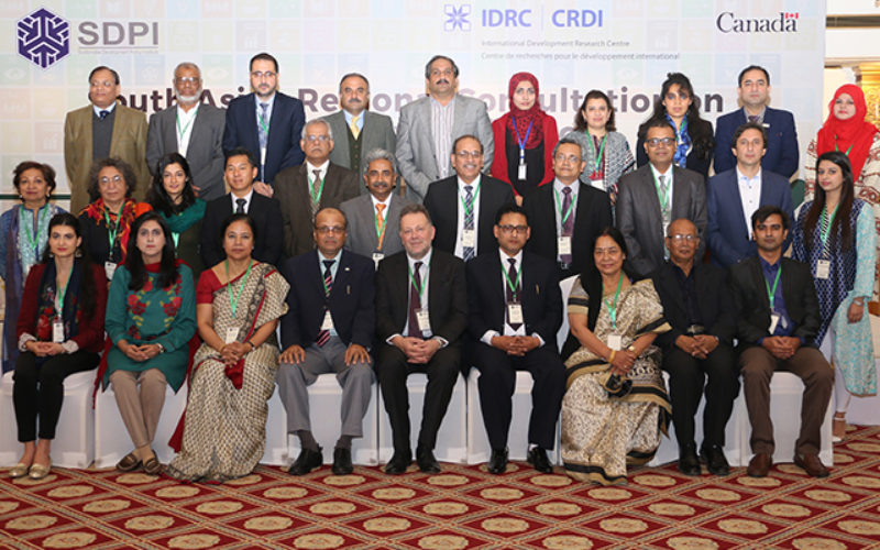 SDPI & IDRC organise South Asian Regional Consultation on Health Policy Institutions