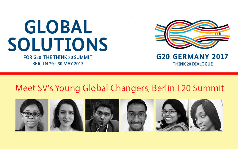 Meet SV's Young Global Changers joining Berlin T20 Summit 2017
