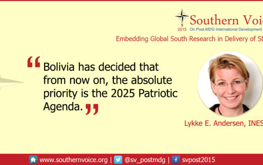 Bolivia's Patriotic Agenda is more ambitious than the SDGs