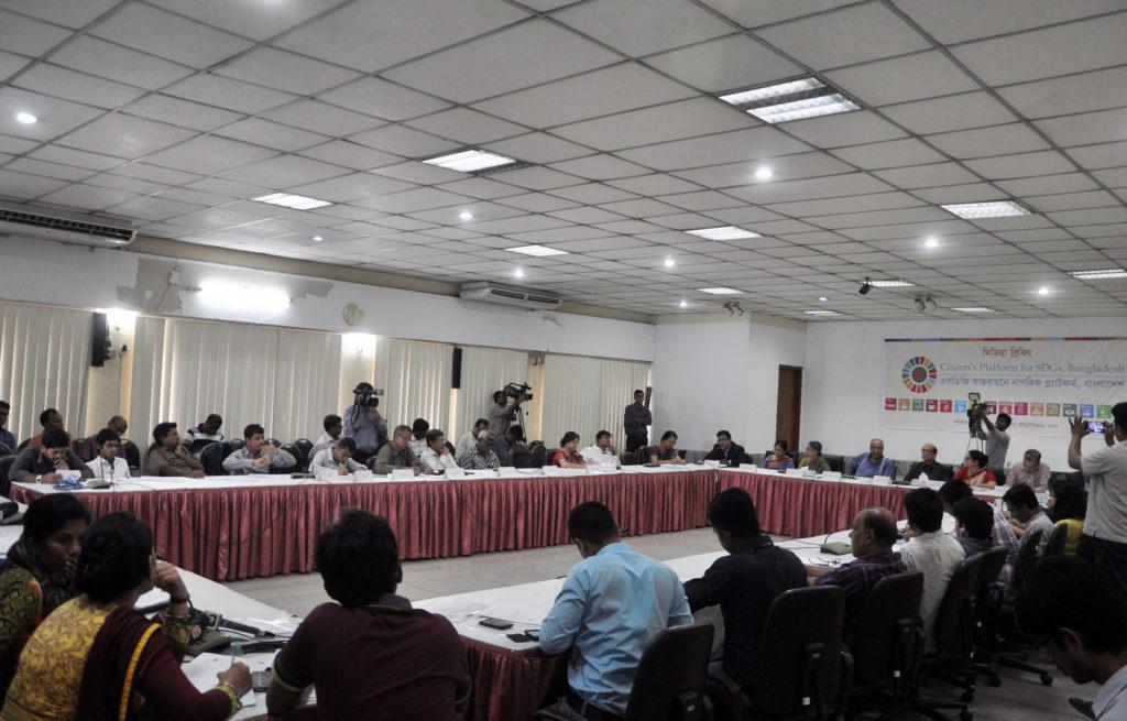 Launching-Citizen's Platform of SDGs Bangladesh