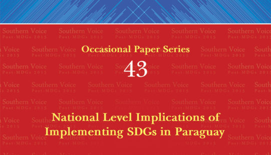National Level Implications of Implementing SDGs in Paraguay
