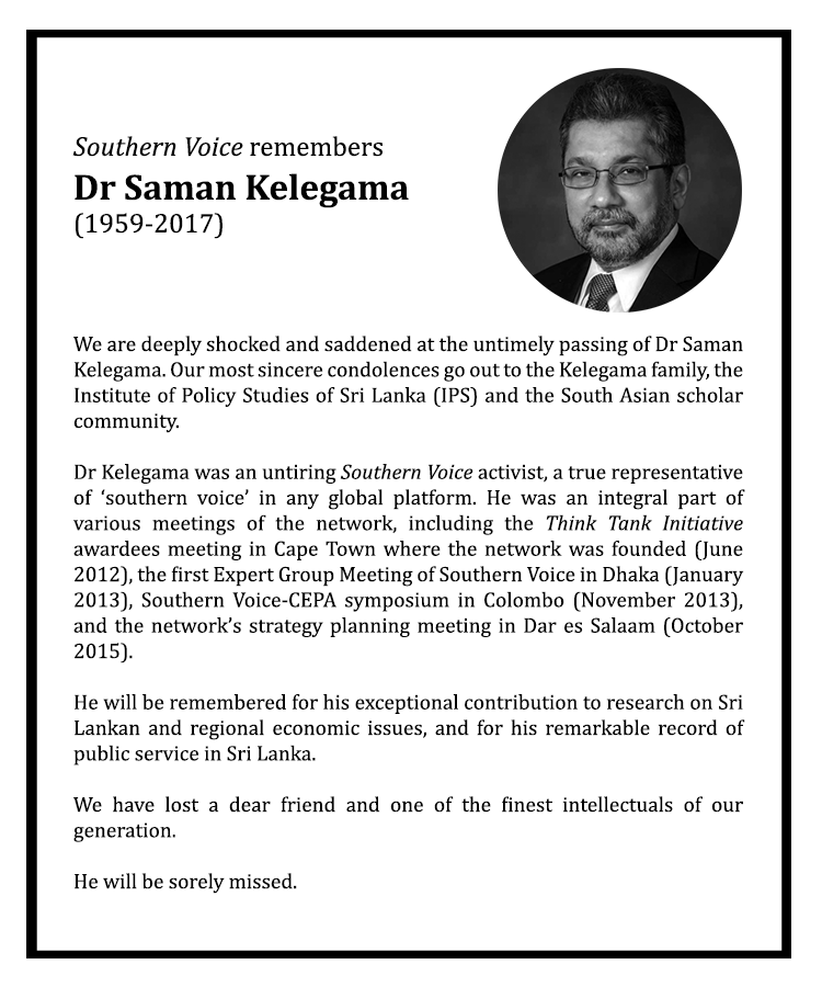 SV remembers Dr.-Saman-Kelegama