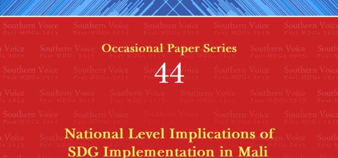 National Level Implications of SDG Implementation in Mali